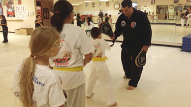AIMAA International Black Belt Testing
