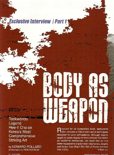 Body as Weapon